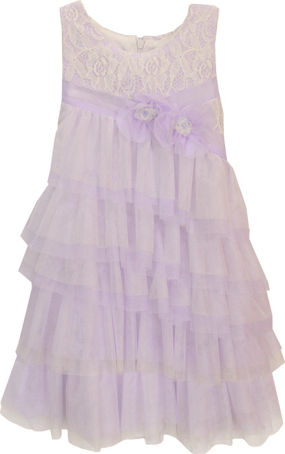 Isobella and Chloe, Fairies A - Line Sleeveless Dress