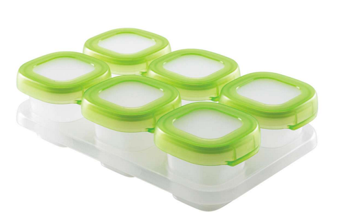 OXO TOT Baby Blocks Freezer Storage Containers, 2 OZ