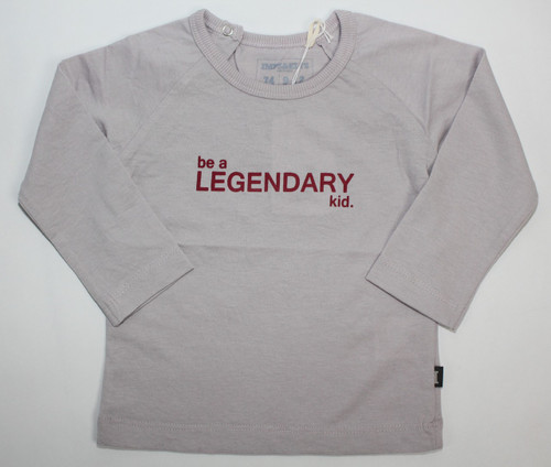 Imps & Elfs Long Sleeve Legendary T-Shirt, Pebble