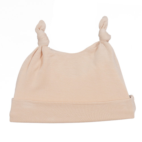 Kickee Pants Solid Double Knot Hat, Blossom