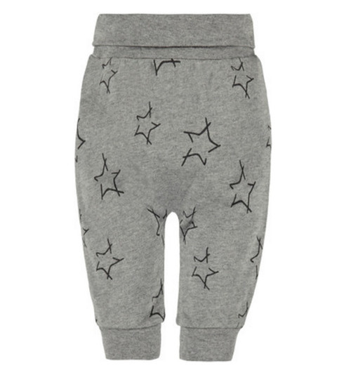 Bellybutton 100% Organic Cotton Baby Trousers, Stars