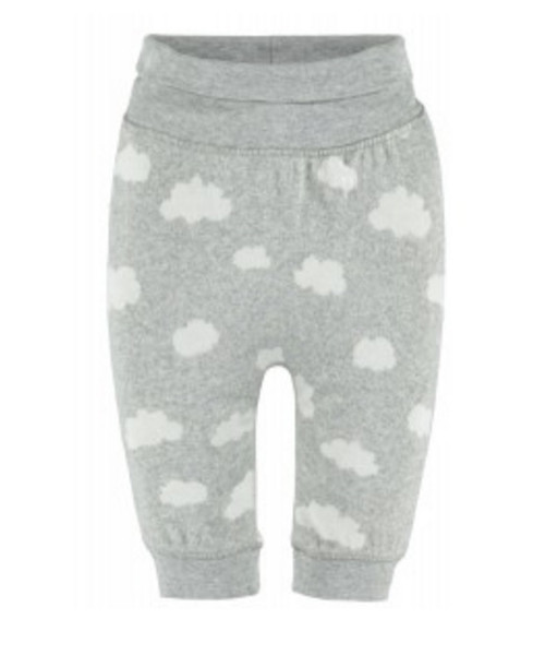 Bellybutton 100% Organic Cotton Drop Crotch Pant, Cloudy Sky