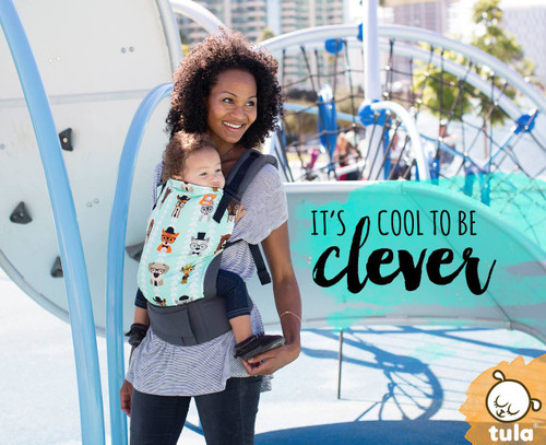 Tula Ergonomic Baby Carrier, Clever