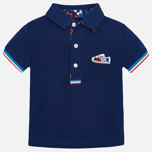 Mayoral Baby Boys Short Sleeve Piqué Polo Shirt, Universal