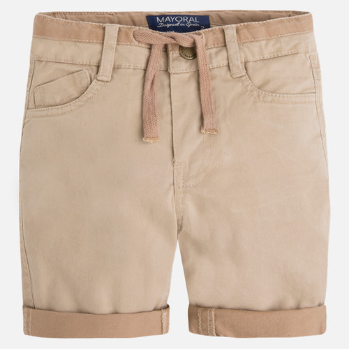 Mayoral Boys Bermuda Shorts, Sand