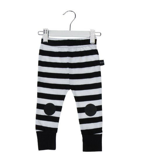 Huxbaby Organic Cotton Skinny Legging, Stripes