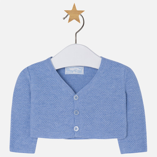 Mayoral Baby Girls Bolero Cardigan, Indigo