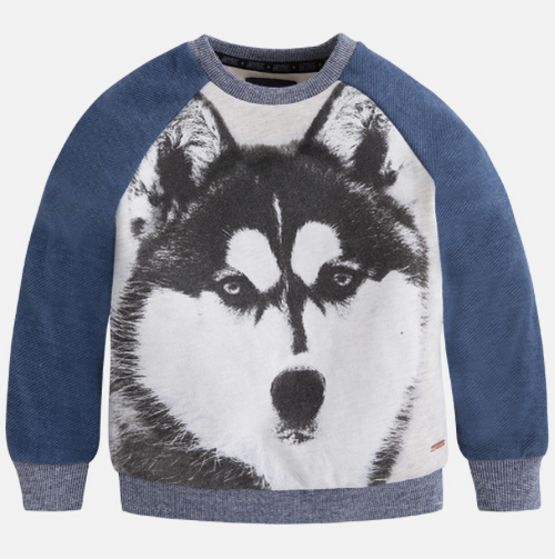 Mayoral Boys Pullover, Denim