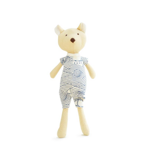 Hazel Village - Nicholas Bear Cub in High Seas Romper