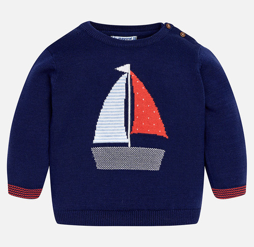 Mayoral Baby Boys Sweater - Blue