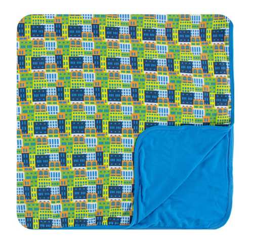 Kickee Pants Print Toddler Blanket - Amazon Houses