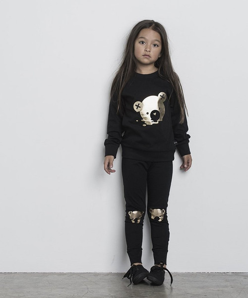 Huxbaby Organic Gold Bear Legging