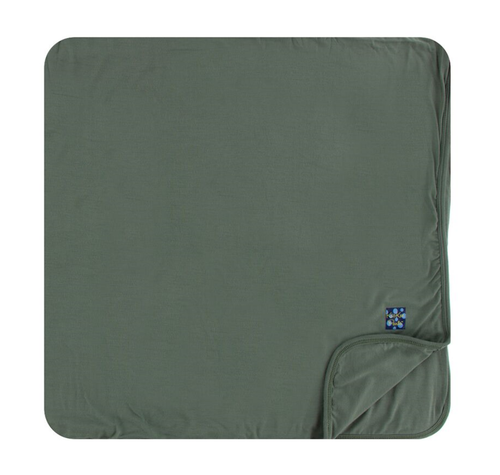 Kickee Pants Solid Toddler Blanket - Succulent
