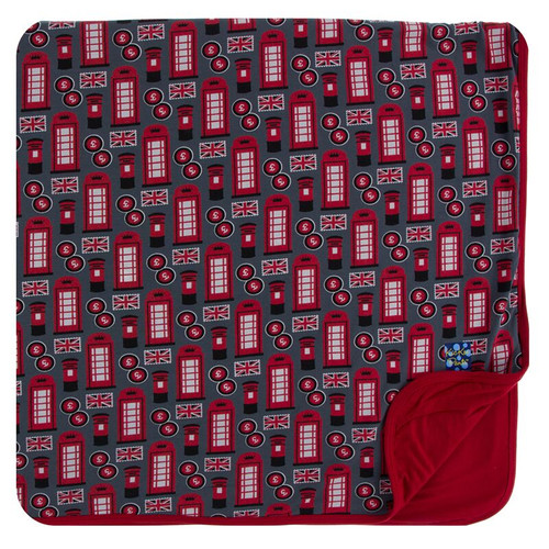 Kickee Pants Print Toddler Blanket - Life About Town