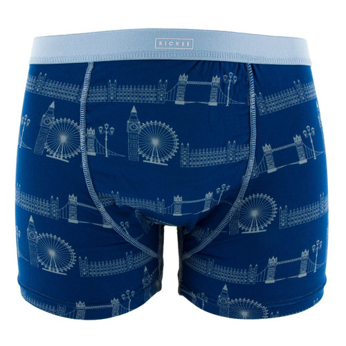 Kickee Pants Print Men's Boxer Brief - London Cityscape