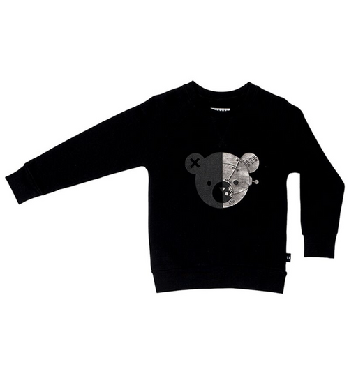 Huxbaby Organic Cotton Robo Bear Sweatshirt