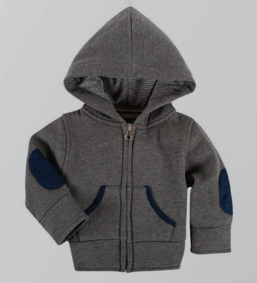 Andy & Evan The Hardisty Hoodie Zip-Up - Grey