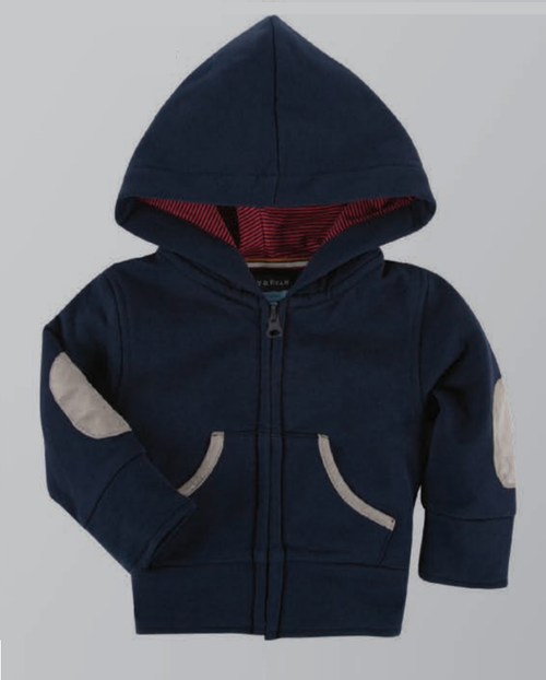 Andy & Evan The Hardisty Hoodie Zip-Up - Navy