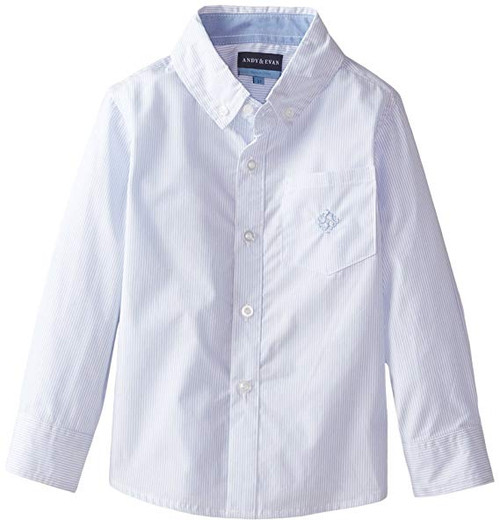 Andy & Evan Classics Shirt - Light Blue Bengal