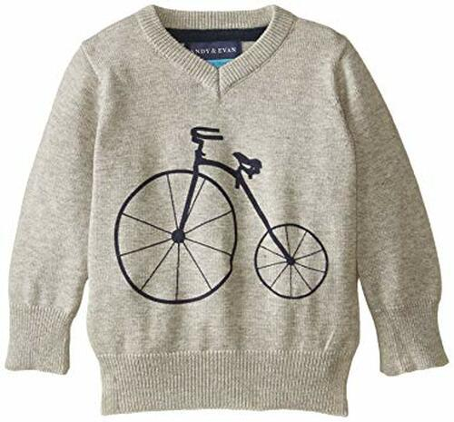 Andy & Evan The Fontana Sweater - Grey