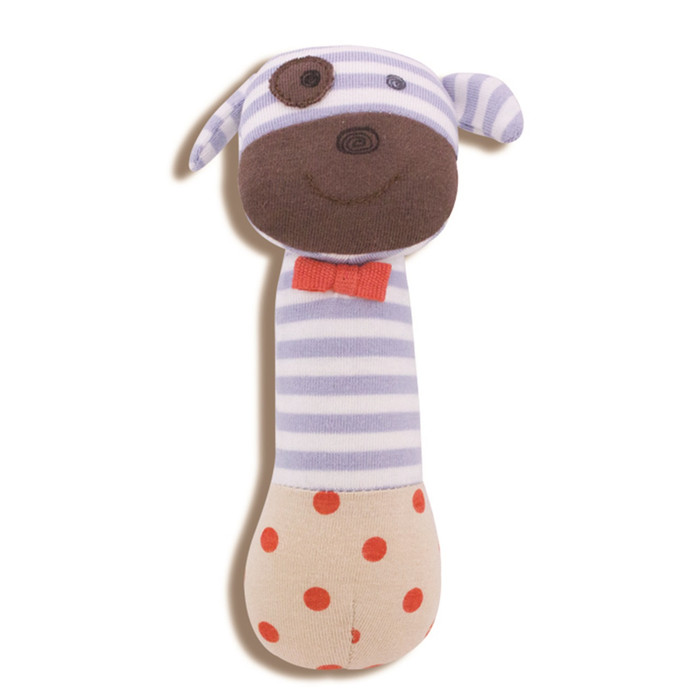 Apple Park - Organic Cotton Boxer the Dog Squeaky Toy