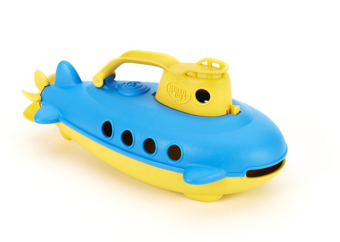 Green Toys Submarine Made of 100% Recycled Milk Jugs