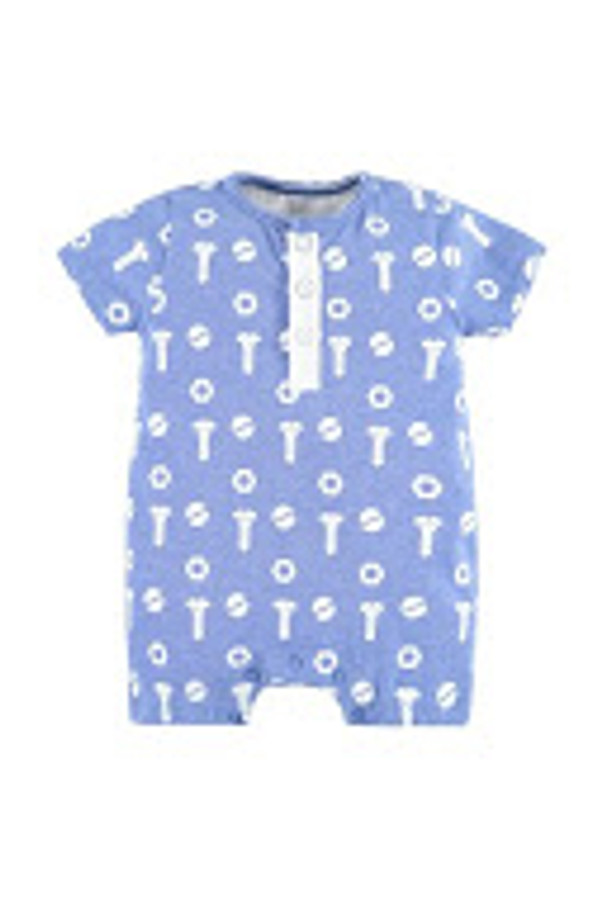 Bellybutton Short Romper, Nuts and Bolts