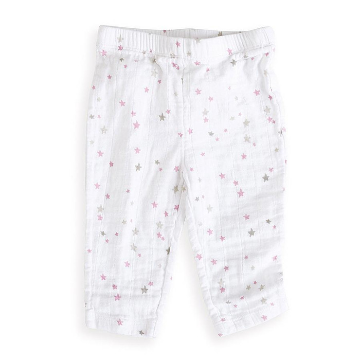Aden+anais muslin pants, lovely starburst