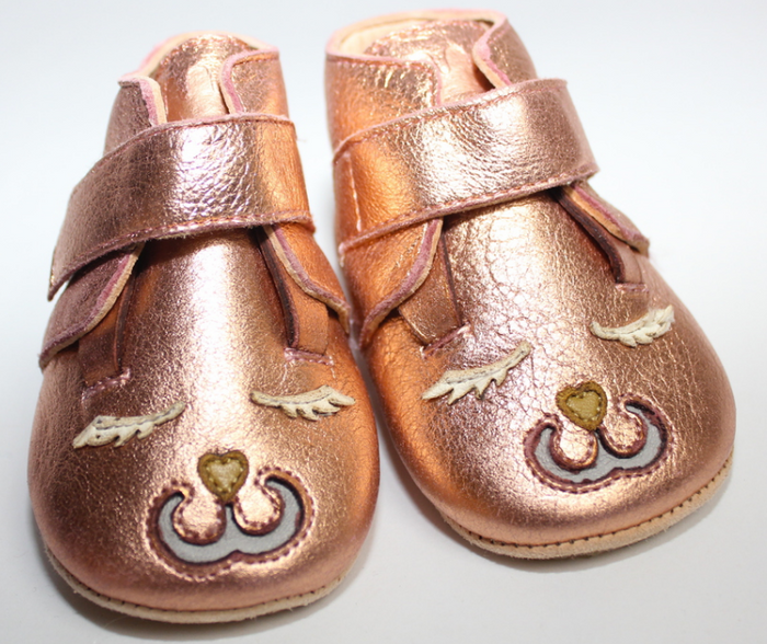 Easy Peasy Hand-crafted Butter-Soft Leather Shoes, Pink