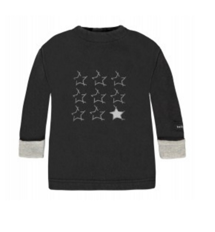 Bellybutton Organic Cotton Baby Sweatshirt, Star