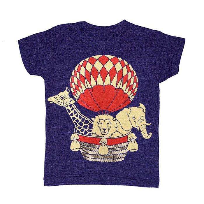 Gnome, Hot Air Balloon Tee