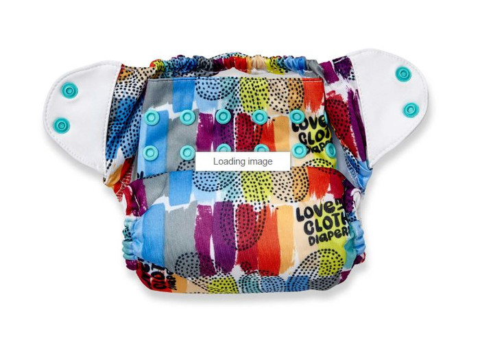 bumGenius Freetime All-in-One Cloth Diaper, Love