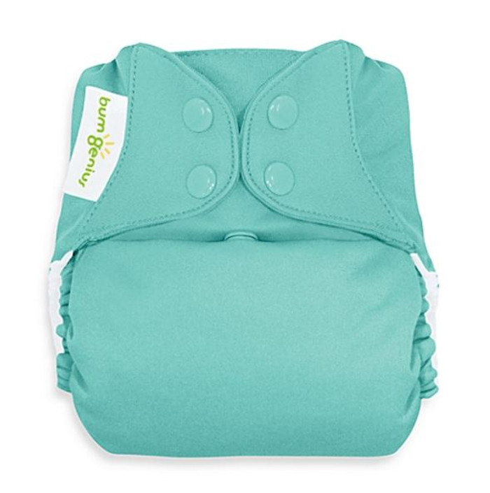 bumGenius Freetime All-in-One Cloth Diaper, Mirror