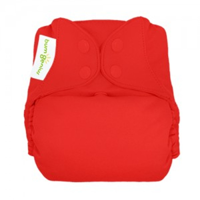 bumGenius Freetime All-in-One Cloth Diaper, Pepper