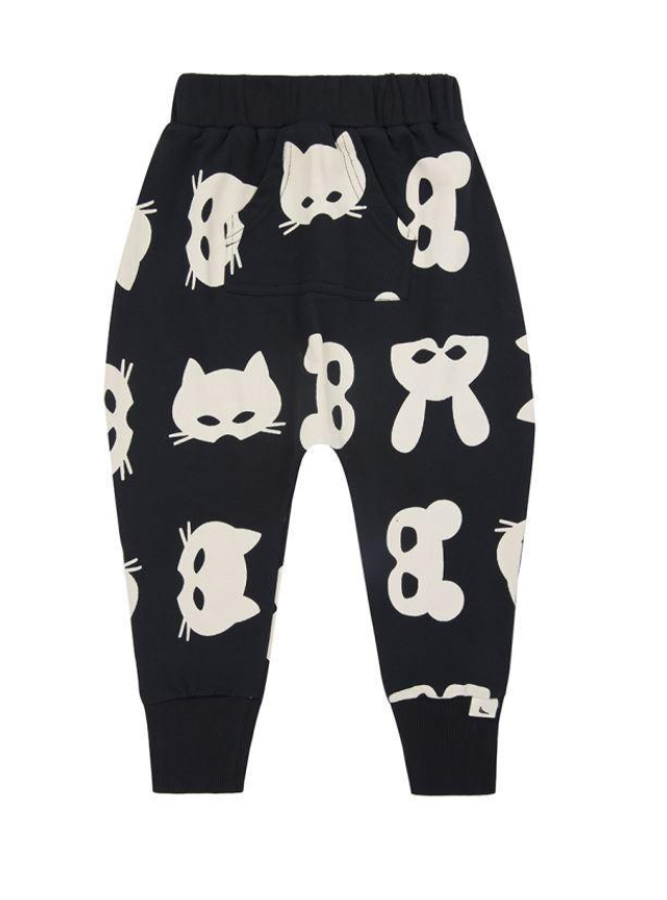 Turtledove London Organic Harem Sweatpants Mask Print