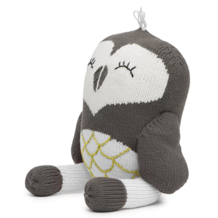 Finn + Emma Rattle Buddy - Oona the Owl