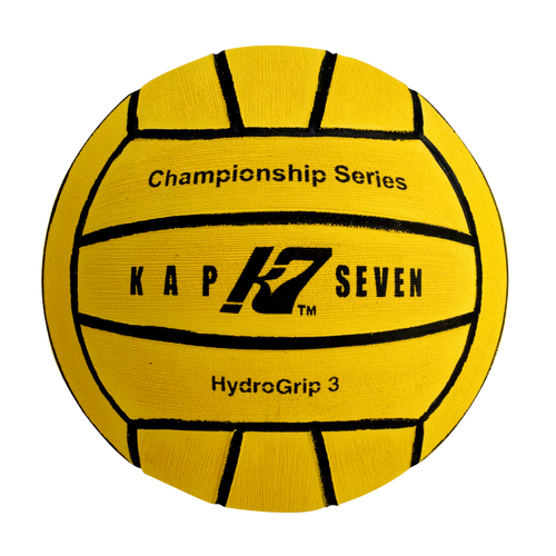 KAP7 Size 3 HydroGrip Water Polo Ball (12U Boys and 12U Girls)