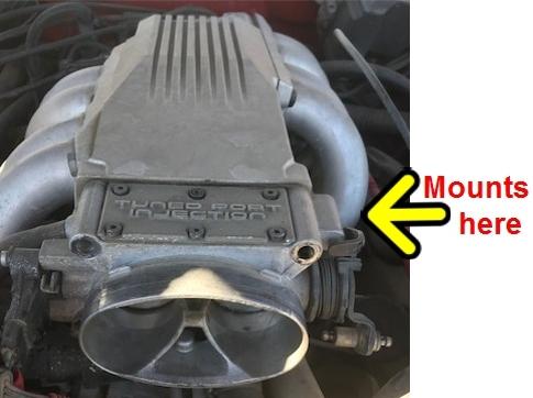 1986-92 Camaro and Firebird Throttle Cable Bracke
