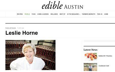 Food Artisan - Leslie Horne