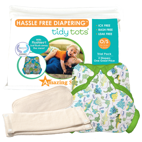 2 Diaper Snap Trial Set
