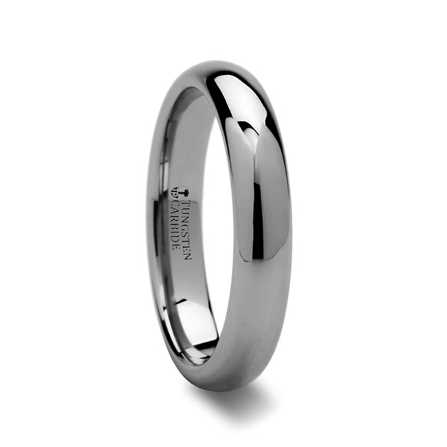 Orchomenus Domed Tungsten Carbide Ring from Vansweden Jewelers