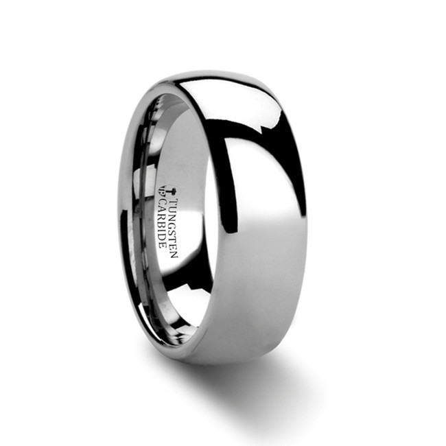 Omphale Domed Tungsten Carbide Ring from Vansweden Jewelers