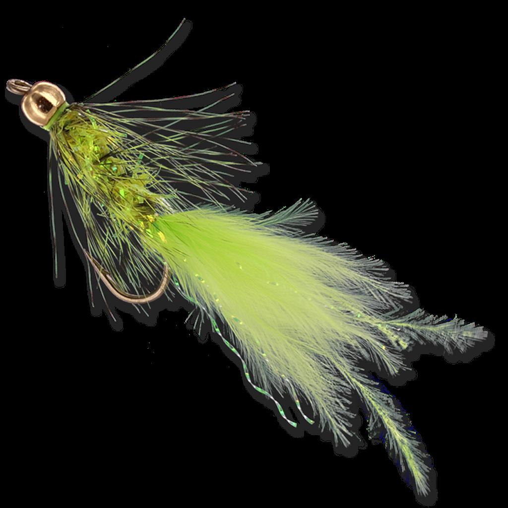 Beadhead Crystal Buggers - Chartreuse #8