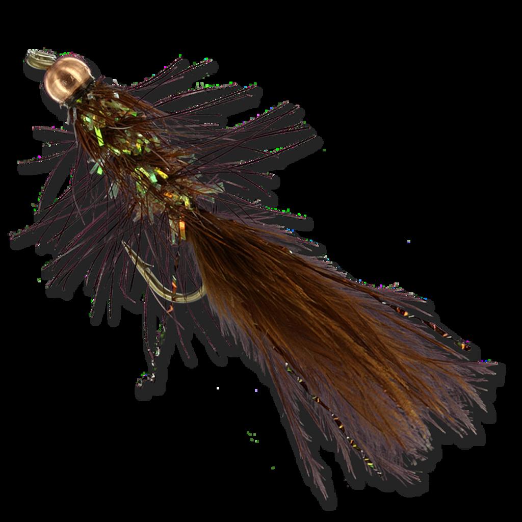 Beadhead Crystal Buggers - Brown #8
