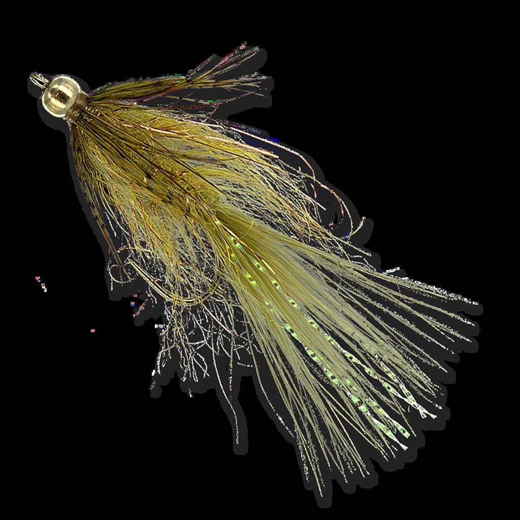Beadhead Mini Leech - Olive #8