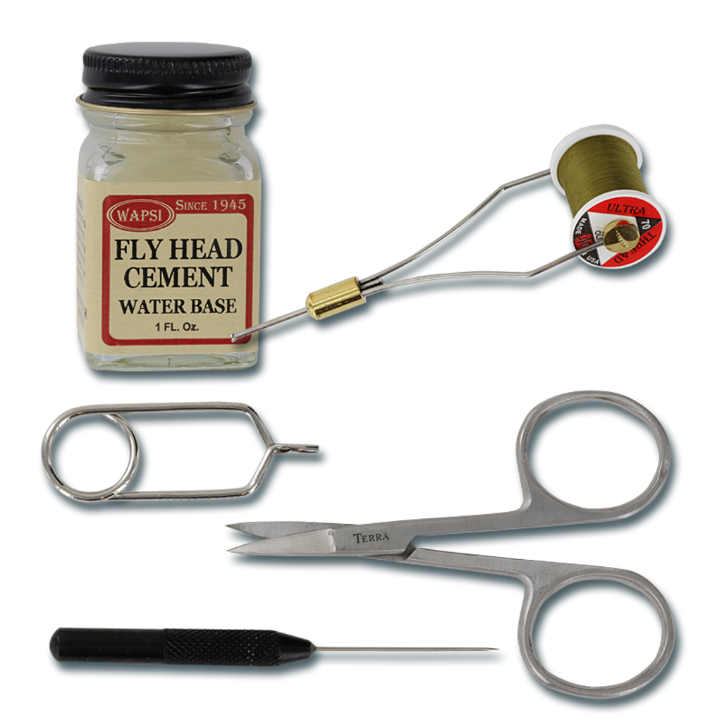 Wapsi Deluxe Starter Fly-Tying Kit - Tools