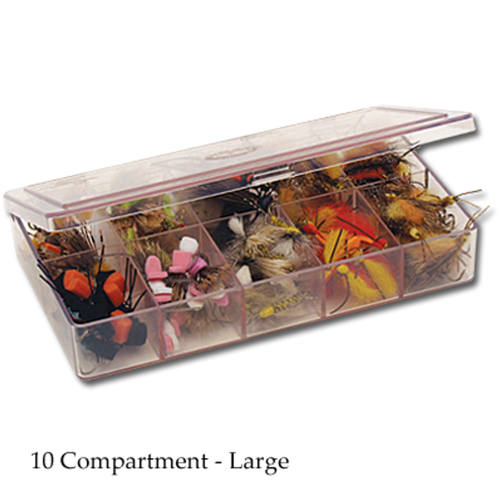 The Fly Shop's Myran Fly Box - Large 10 Compartment