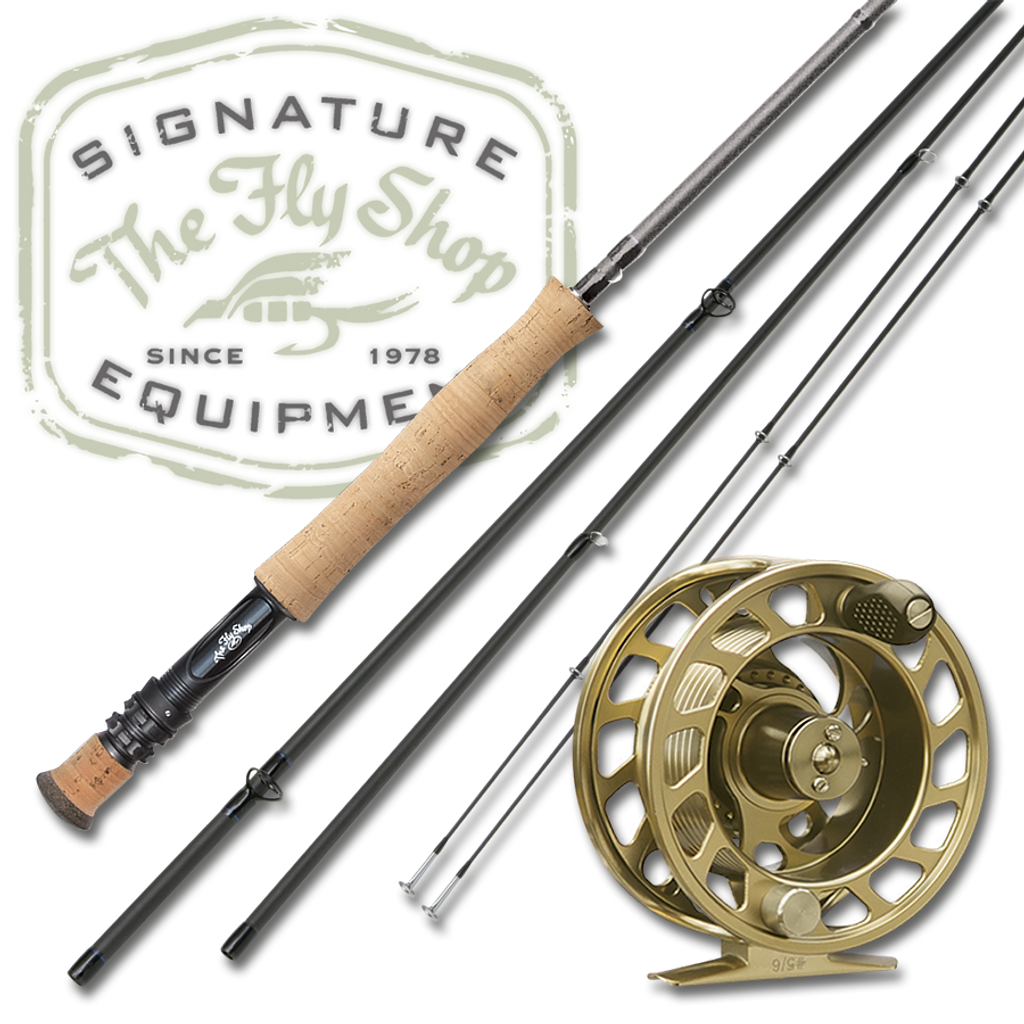 The Fly Shop's Signature H2O Indicator Fly Rod with L2A Reel