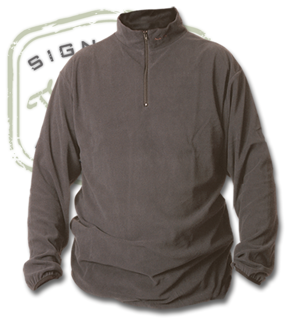 The Fly Shop's Wader Fleece Zip Tops - Grey