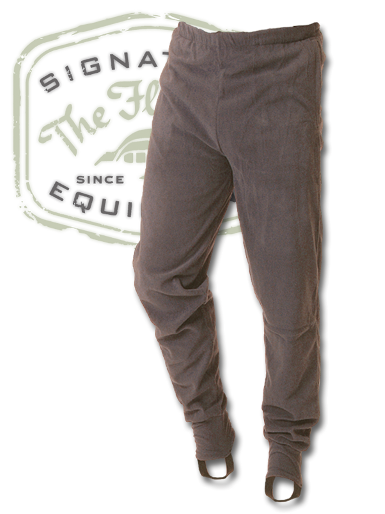 The Fly Shop's Wader Fleece Stirrup Bottoms - Grey